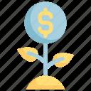 business, dollar, earning, growth, money, success