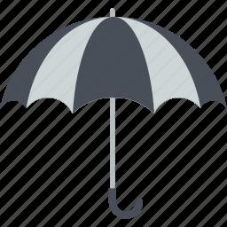business, finance, flat design, insurance, umbrella icon