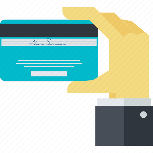 banking, credit card, flat design, methods, payment icon