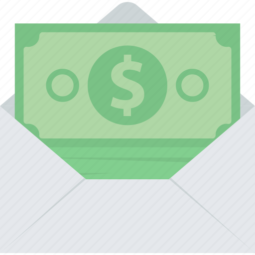 banking, e-banking, flat design, money, online, sms icon