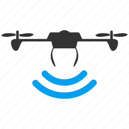 air drones, copter, flying drone, nanocopter, quadcopter, radio control uav, unmanned aerial vehicle icon