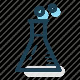 business, chemistry, development, education, laboratory, measure, science icon