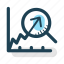 analysis, gain, growth, increase, profit, revenue, statistics icon