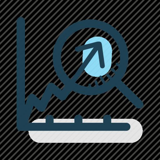 analysis, gain, growth, increase, profit, revenue, statistics icon