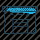 cargo, goods, logistics, storage, storehouse, transport, warehouse icon