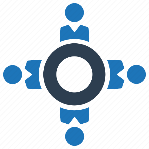 Business meeting, teamwork, collaboration icon - Download on Iconfinder