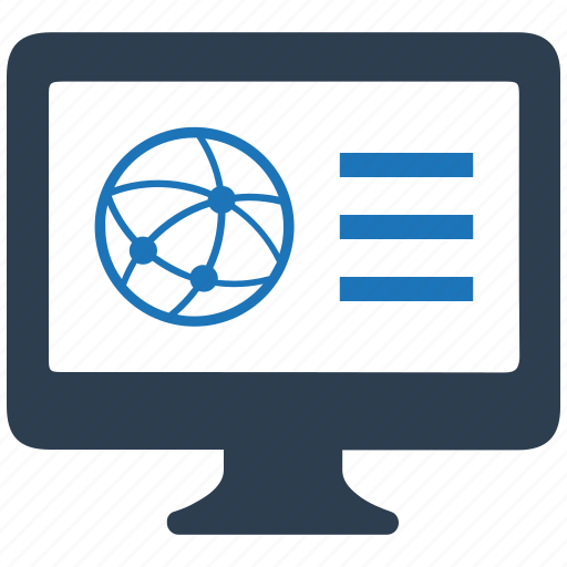 business connectivity, online icon
