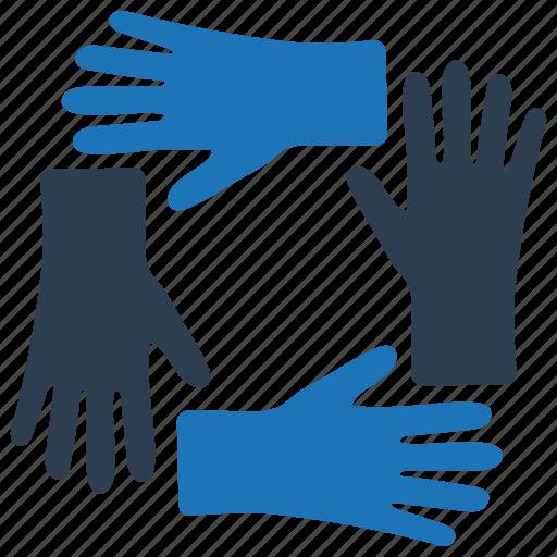 teamwork, together, unity icon