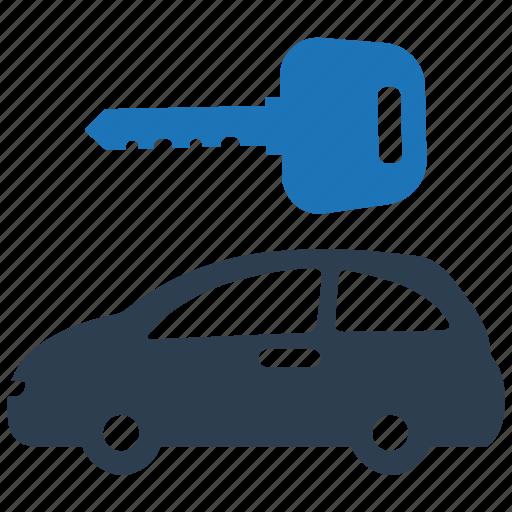 auto, car rental, vehicle icon