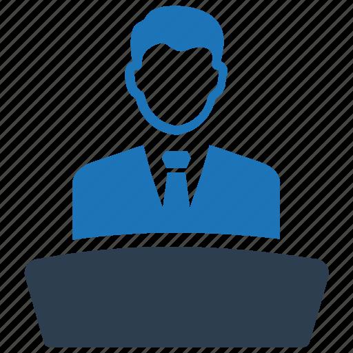 business, presentation icon