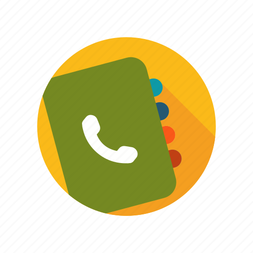 adress, book, contact, information, people, phones icon