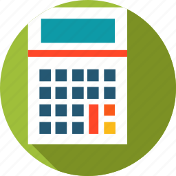business, calculator, hourly rate icon
