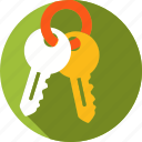 house, keys, owner, ownership icon