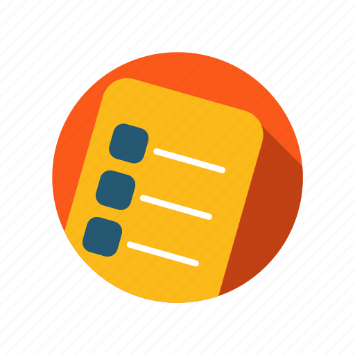 checklist, form, list, report, test icon