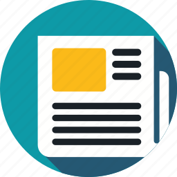 articles, news, news feed icon