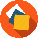 brainstorming, checklist, clipboard, file, list, notes, paper, sticky notes icon