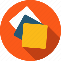 brainstorming, list, notes, sticky notes icon