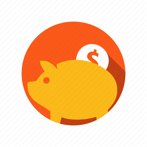 account, bank, coin, deposit, money, piggy, savings icon