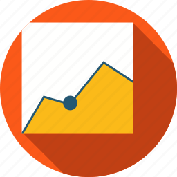 business, data, growing, infographics, statistics icon