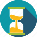 deadline, flow, hourglass, time, time passing icon