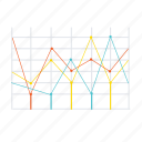 business, chart, management, plan, stock, strategy, triangle icon