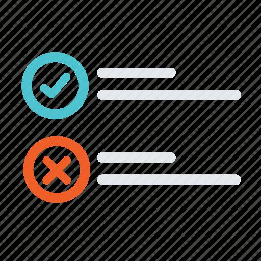 answer, chart, choice, exam, list, option, quiz icon