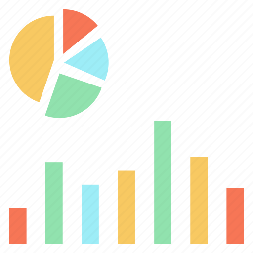 chart, graph, growth, pie, statistics icon
