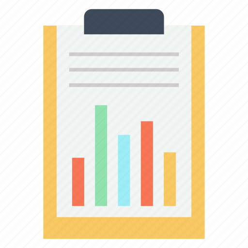 clipboard, document, paper, report, sheet icon