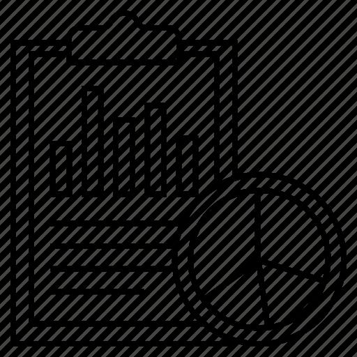 document, graph, report, sheet, statistics icon