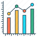 analytics, chart, diagram, graph, statistic icon