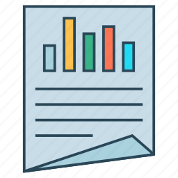 document, page, performa, report, sheet icon