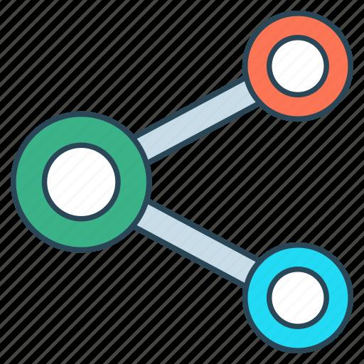 chart, diagram, graph, mathematics, statistic icon