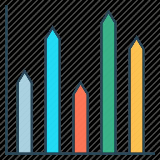 chart, diagram, graph, growht, statistics icon