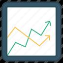 chart, graph, growth, mathematics, statistic icon