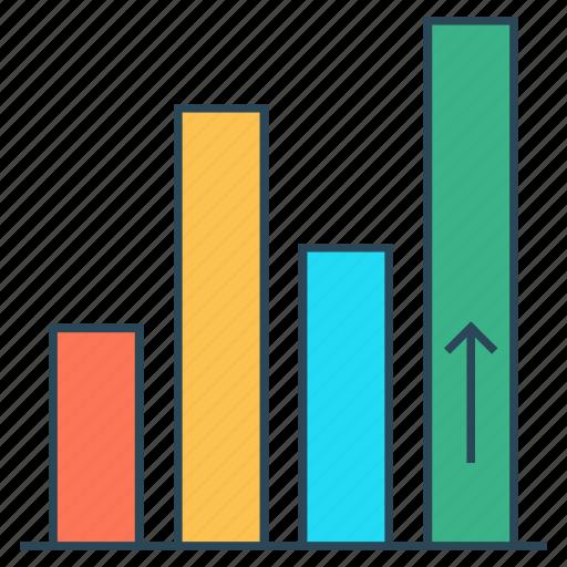 chart, diagram, graph, growth, statistics icon