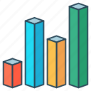 analytics, chart, graph, growth, statistics icon