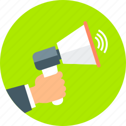 announcemnt, communication, connection, inform, message, talk icon