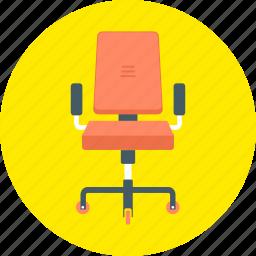 bench, chair, deckchair, office, seat, work icon