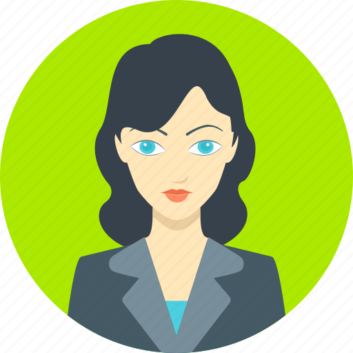 businesswoman, employee, female, girl, office, woman, worker icon