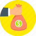 cash, dollar, finance, investment, money, profit, savings icon