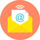 communication, email, envelope, letter, message, send, text icon