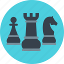 chess, game, goal, solution, strategy, target, win icon