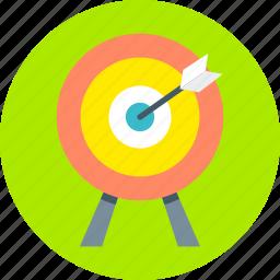 aim, center, dart, focus, goal, marketing, target icon