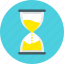 data, event, hourglass, saving, time, timer, wait icon