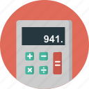 calculation, calculator, digital, display, interface, keys, numbers icon