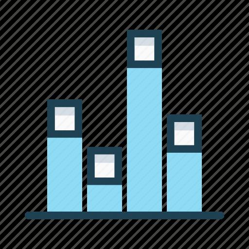 analytic, chart, data, economy, graph, statistics, summary icon