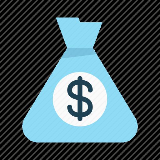 bag, budget, dollar, finance, interest, investment, money icon