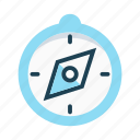 compass, direction, guide, location, navigation, orientation icon