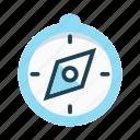compass, direction, guide, location, navigation, orientation