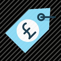 label, pound, price, price tag, sales, tag, trade icon
